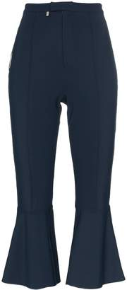 Bjorn Borg Rbn X flared mid-rise cropped trousers