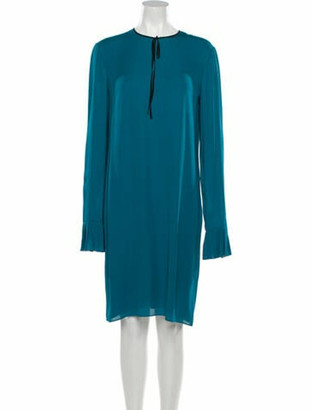 Gucci 2015 Knee-Length Dress Blue
