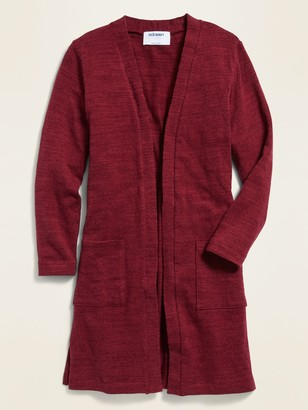 Old Navy Super-Long Open-Front Sweater for Girls