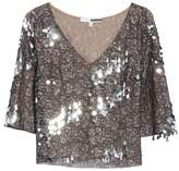 Tracy Reese Women's Sequin & Lace Crop Top
