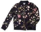 Monteau Floral Bomber Jacket