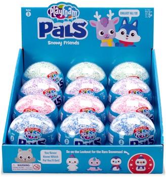 Educational Insights Playfoam Pals 12-Pack Snowy Friends Series 3