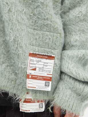 Miharayasuhiro Mihara Yasuhiro - Brushed Knitted Cardigan - Green
