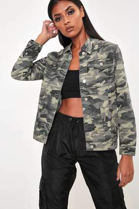 I SAW IT FIRST Camouflage Military Jacket