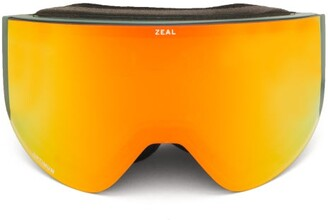 Zeal Optics Hatchet Interchangeable-lens Ski Goggles - Mens - Green Multi