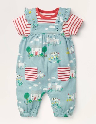 Jersey Dungaree Set