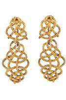 Buccellati Boucles d'oreilles yellow gold earrings
