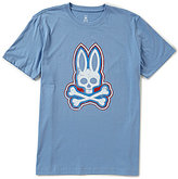 Psycho Bunny Large Bunny Short-Sleeve Crew Neck Graphic Tee