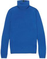 Paul Smith Slim-Fit Striped Merino Wool Rollneck Sweater