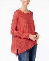 Eileen Fisher Asymmetrical Box Top, Regular & Petite