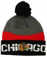 Reebok Chicago Blackhawks Pom Knit Hat