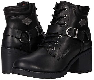 Harley-Davidson Howell 5 Lace (Black) Women's Boots