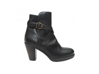 Fiorentini+Baker Black Leather Ankle boots