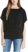 Fifteen-Twenty Fifteen Twenty Pleated Overlay Top