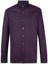 Lanvin fuzzy pattern shirt