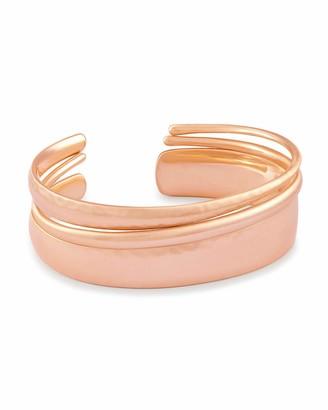 Kendra Scott Tiana Cuff Bracelet for Women Rose Gold One Size