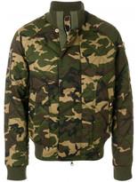 Balmain camouflage bomber jacket