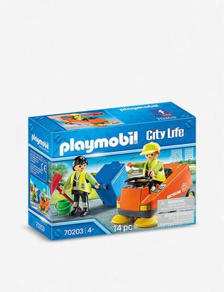 Playmobil City Life Street Sweeper playset