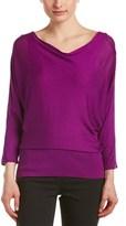 Josie Natori Silk Sweater.