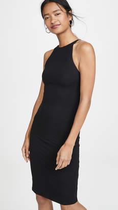 Alice + Olivia Delora Spaghetti Strap Fitted Dress