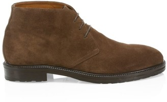 Saks Fifth Avenue COLLECTION Suede Chukka Boots