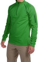 Marmot Stretch Fleece Shirt - Zip Neck, Long Sleeve (For Men)