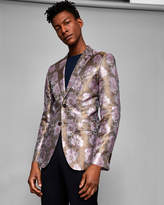 Ted Baker Global silk floral jacquard jacket