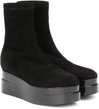 Clergerie Laissa 2 suede ankle boots