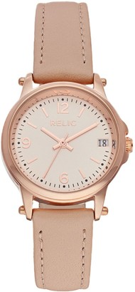Fossil Relic By Relic by Women's Matilda Leather Watch
