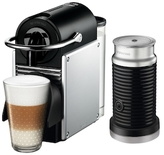 Nespresso Pixie Espresso Maker by De'Longhi with Aeroccino