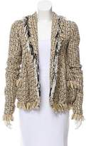 Rodarte Embellished Tweed Blazer