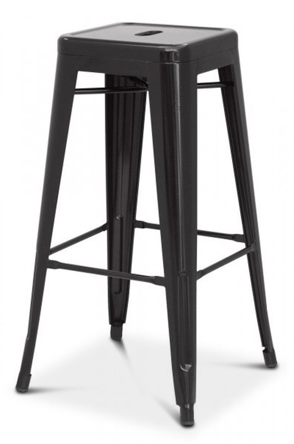 Terrific Oxford Metal Counter Stool Black Set Of 4 Gmtry Best Dining Table And Chair Ideas Images Gmtryco