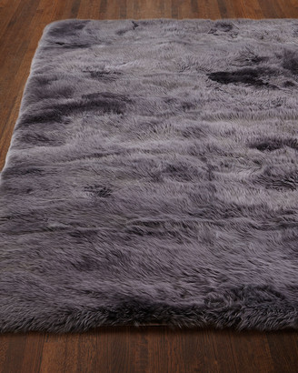 "Exquisite Rugs Effie Sheepskin Rug, 9'6"" x 13'6"""