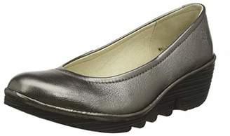 Fly London Women's Pump Closed Toe Heels, Gold (Bronze (Black Sole) 096), 3 (36 EU)