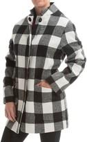 Jones New York Plaid Coat (For Women)