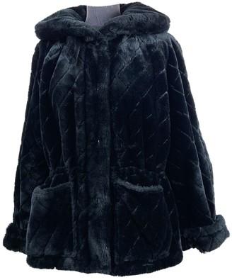Sonia Rykiel Black Faux fur Coats