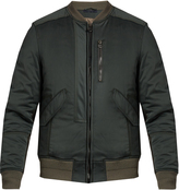 Lanvin Multi-panel bomber jacket
