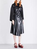 Toga Sequinned laminated dress