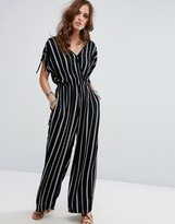 Band of Gypsies Festival Pinstripe Jumpsuit