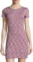 Soybu Monrore Short-Sleeve Dress, Hydrangea