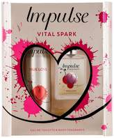 Impulse Vital Spark True Love 30ml EDT + 75ml Body Fragrance Gift Set