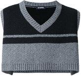 Raf Simons cropped knit gilet