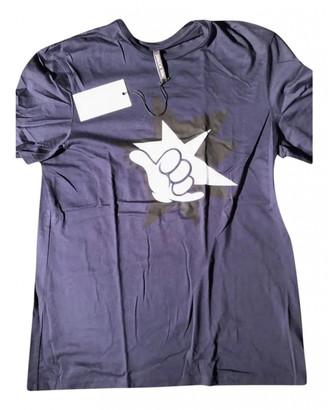 Neil Barrett Blue Cotton T-shirts