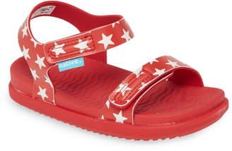 Native Charley Child Waterproof Flat Vegan Sandal