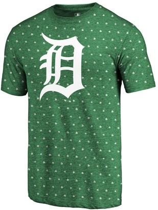 Men's Fanatics Branded Kelly Green Detroit Tigers 2018 St. Patrick's Day All Irish Tri-Blend T-Shirt