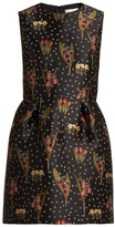RED Valentino Blooming Garden-jacquard dress