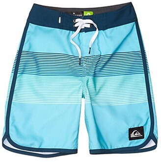 Quiksilver Everyday Grass Roots (Big Kids) (Pacific Blue) Boy's Swimwear