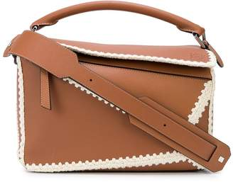 Loewe Puzzle medium whipstitch shoulder bag