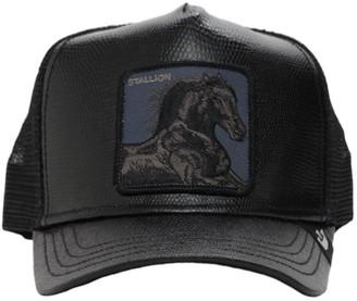Goorin Bros. Faux Leather Trucker Hat W/Patch