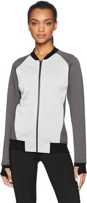 Core Products Core 10 Women's Motion Tech Fleece Fitted Bomber Full-Zip Jacket